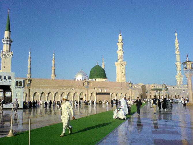 Мечети и памятные места лучезарной Медины.