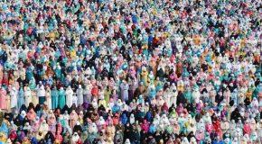 Мусульманка и танцы