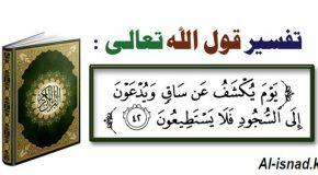 Тафсир Суры Аль Калям аят 42