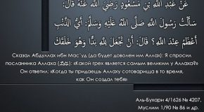 Виды ширка согласно  акыде ахлю сунны валь джамаа